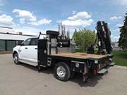 HIAB Crane with Dodge Truck For Sale
