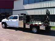 HIAB 033T-4 with Dodge Truck - SOLD