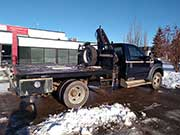 HIAB Crane on a Ford Truck for Sale