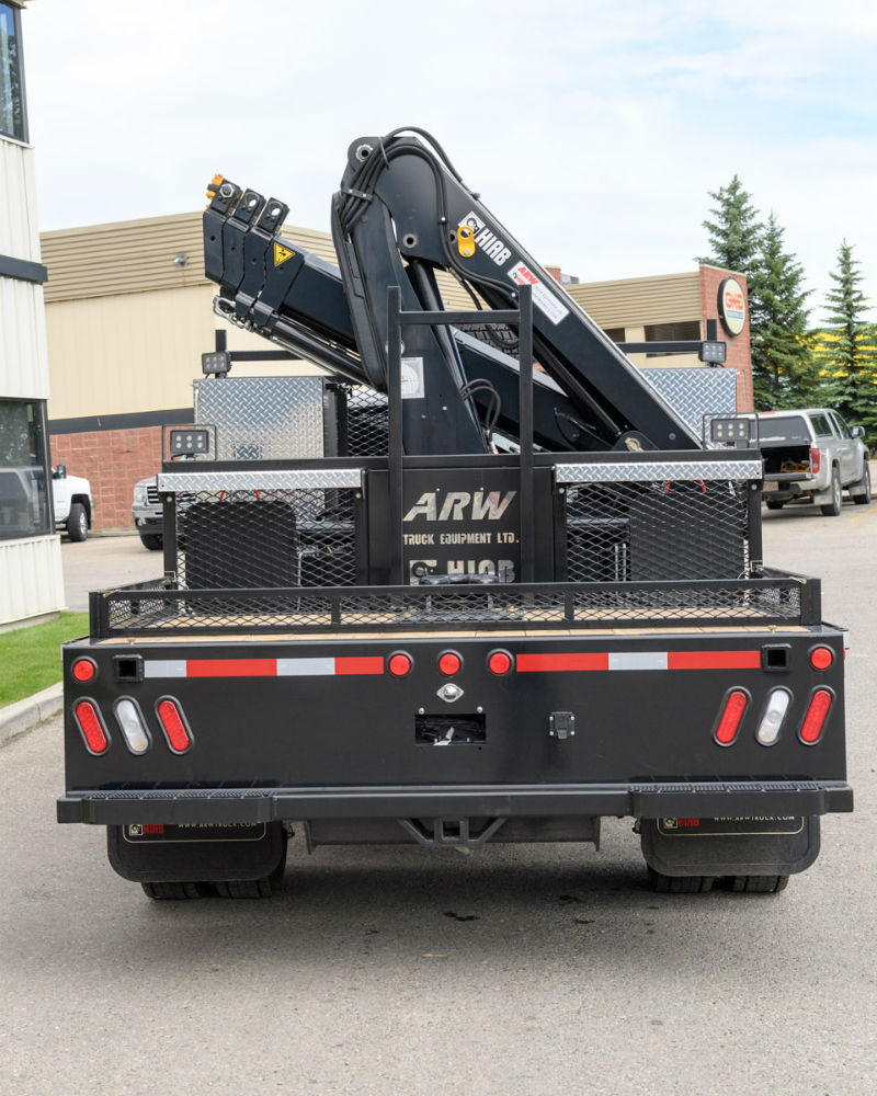 HIAB 077 BS CLX-3 On Dodge Truck For Sale Calgary Edmonton AB