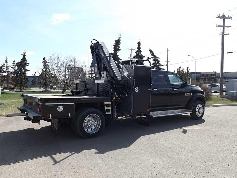 hiab esclx  crane  dodge laramie truck  sale ab