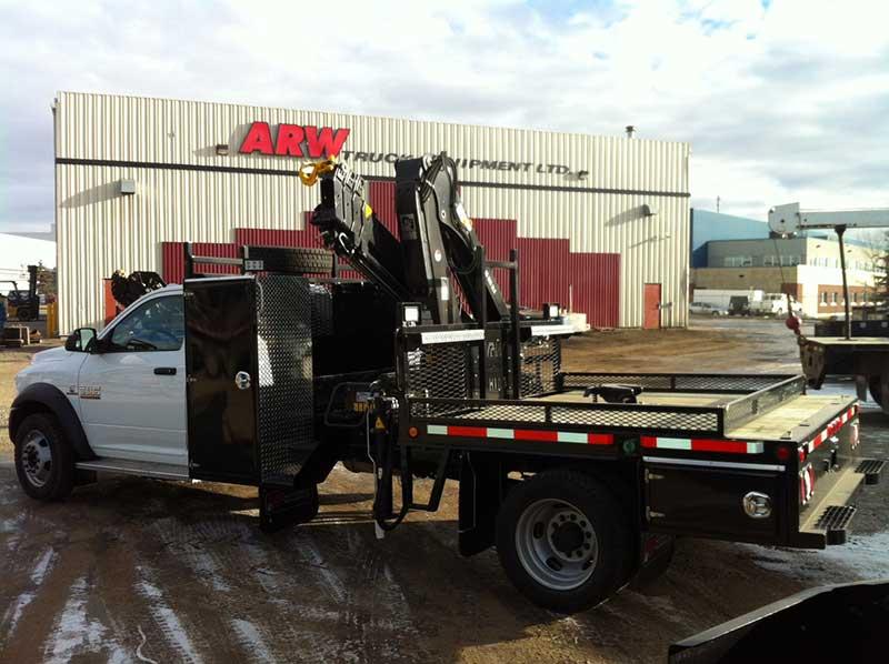 Demo and Used Picker Trucks | ARW Truck Equipment Ltd