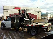 HIAB Crane with Dodge ST Truck - SOLD