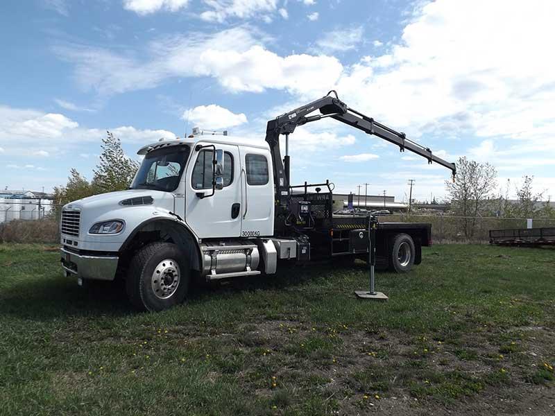 Hiab 111b 3 Hiduo On Freightliner Truck Sold