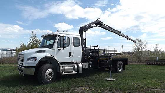 HIAB 111B-3 HiDuo on Freightliner Truck - SOLD