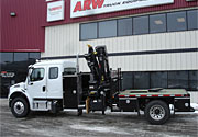 HIAB Crane with Freightliner Truck Package - SOLD