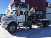 HIAB 218B-4 CLX with Kenworth Truck for Sale