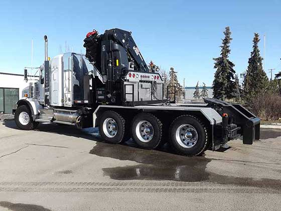 855 Crane on Kenworth T800 Truck For Sale