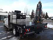 HIAB Crane on a Dodge Truck for Sale
