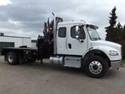 HIAB X-CLX 218B-4 and Freightliner Truck for Sale