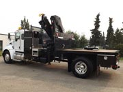 HIAB X-HIDUO 228E-5 and Kenworth T370 4x2 Truck for Sale