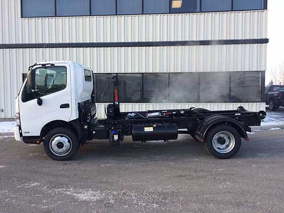 Multilift Hooklift XR5L on Hino Truck for Sale