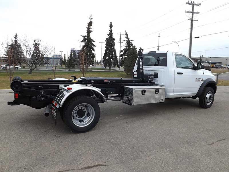 multilift hooklift xr5l on dodge truck for sale. Black Bedroom Furniture Sets. Home Design Ideas