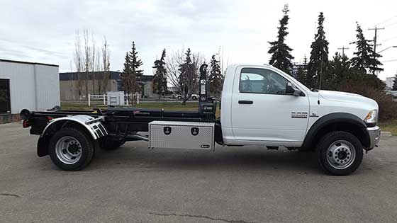 Multilift Hooklift XR5L on Dodge Truck for Sale