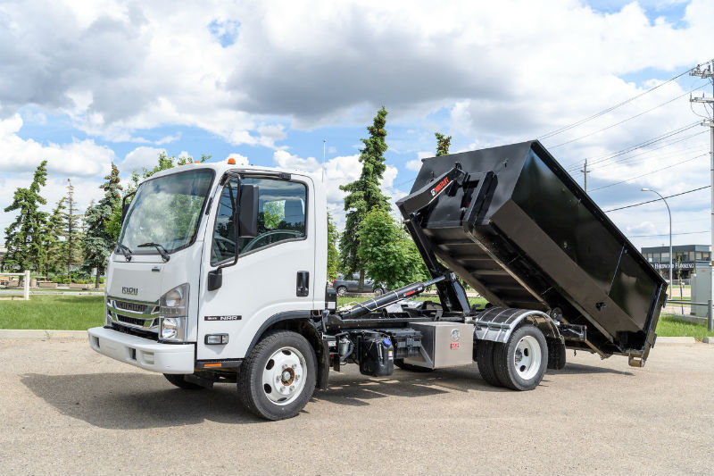 Multilift Hooklift Xr5l On Isuzu Truck For Sale