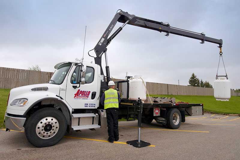 Hiab Xs 166 Picker Truck Arw Truck Equipment Ltd